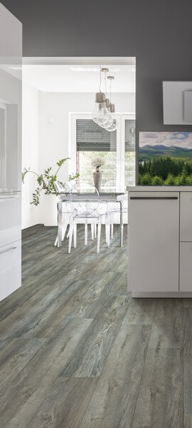luxury vinyl kitchen | Great Western Flooring Co.