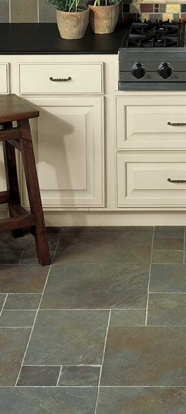 tile in kitchen | Great Western Flooring Co.