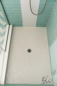 Blue Colored Tiles | Great Western Flooring Co.