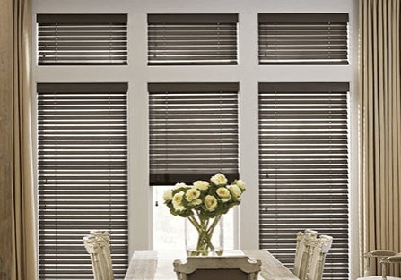 Wood and metal blinds | Great Western Flooring Co.